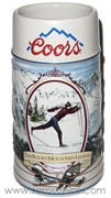 1991 Coors The Rocky Mountain Legend Series Skier Mug