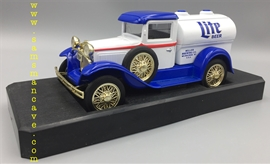 Miller Lite Model A Tanker Bank