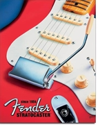 Fender Strat Since 1954 Tin Sign