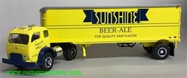 Sunshine Beer Ale White 3000 Tractor Trailer
