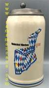 1993 Munich Oktoberfest Official Beer Stein