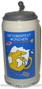 2001 Munich Oktoberfest Official Beer Stein