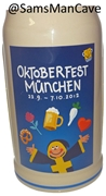 2012 Munich Oktoberfest Official Beer Mug