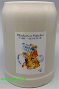 2013 Munich Oktoberfest Official .5 Liter Beer Mug