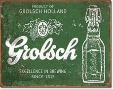 Grolsch Metal Sign