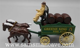 Greene King Fine Ales Horse and Wagon by Lledo