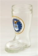 US Air Force Mini Boot Shot Glass