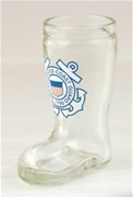 Coast Guard Mini Boot Shot Glass
