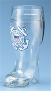 Coast Guard One Liter Glass Boot