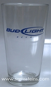 Bud Light Pint Glass SET