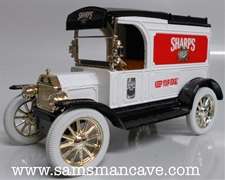 Miller Sharps Beer 1913 Model T Van Bank