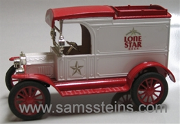 Lone Star 1913 Model T Van Bank