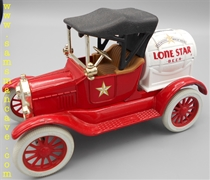 Lone Star 1918 Runabout Barrel Bank