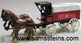 Leinenkugel Horse and Wagon