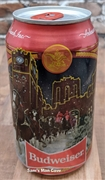 Budweiser Happy Holidays Brewhouse Beer Can