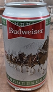 Budweiser Happy Holidays Hitch Mountain Beer Can