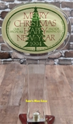 Anchor Steam 1994 Holiday Tap Handle