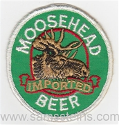 Moosehead Imported Beer Patch