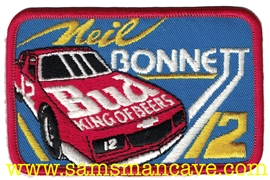 Budweiser Neil Bonnett Beer Patch