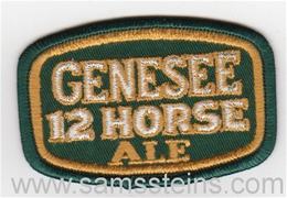 Genesee 12 Horse Ale Beer Patch