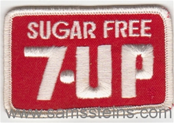 7 UP Sugar Free Patch