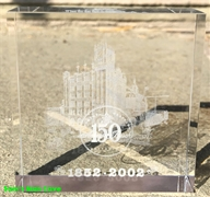 Budweiser 150th Anniversary Laser Crystal