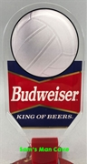 Budweiser Volleyball Tap Handle