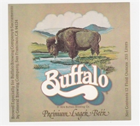 Buffalo Premium Lager Beer Label