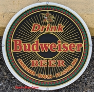 Anheuser-Busch Collectors Club Drink Mirror