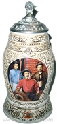 1998 Anheuser-Busch Collectors Club Old World Heritage Stein
