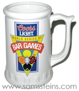 Coors Light World Series of Bar Games Mug