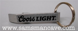 Coors Light Bottle Opener Keychain
