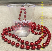 Captain Morgan Shot Glass Necklace
