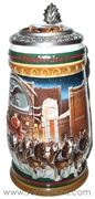 1997 Budweiser Holiday Home For The Holidays Signature Edition Stein