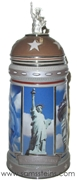 U.S. Landmark Series I Statue of Liberty Stein