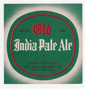 Old India Pale Ale Beer Label