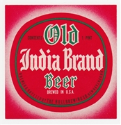Old India Pale Beer Label