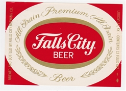 Falls City Beer Label