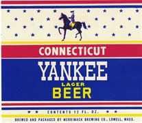 Connecticut Yankee Lager Beer