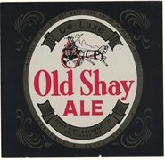 Old Shay Ale Label
