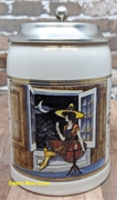 Miller Girl in the Moon Moontime Relaxation Miniature Stein