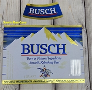 Busch Beer Label with neck label
