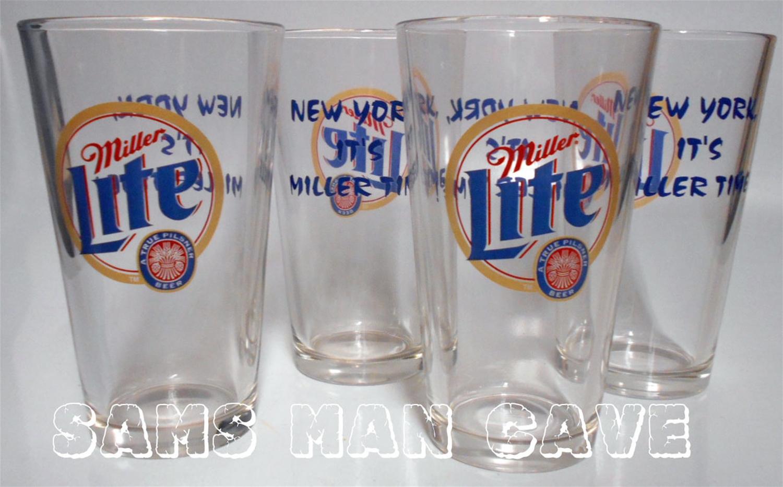 Miller Lite Pint Glass