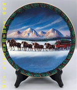 2000 Budweiser Holiday in the Mountains Plate