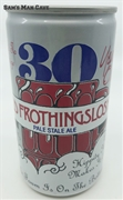 Old Frothingslosh 30 Years Beer Can