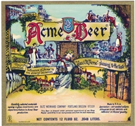 Acme Beer Label