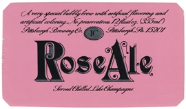 Rose Ale Beer Label