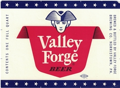 Valley Forge Beer Label
