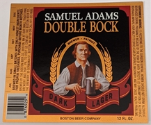 Samuel Adams Double Bock Label