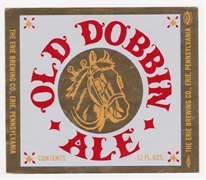 Old Dobbin Beer Label